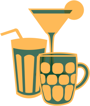 Cocktails, Free From & Soft Drinks
